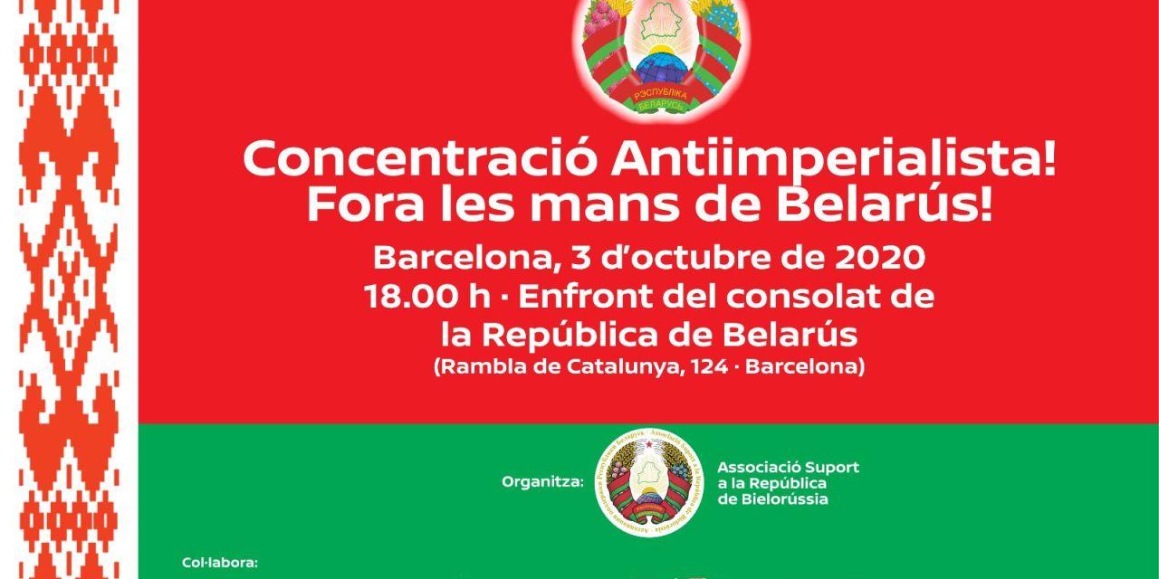 BIELORRUSIA | Concentració Antiimperialista a Barcelona! / Concentración Antiimperialista en Barcelona