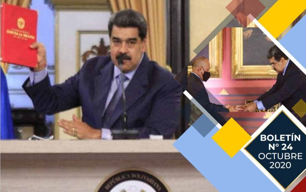 Boletín de economía política y revolución del  PSUV, Nº 24 – Octubre 2020