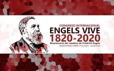Invitación a la última sesión del Congreso Engels Vive