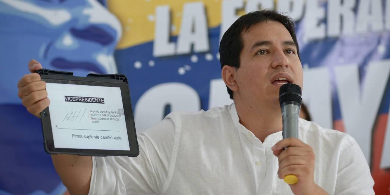 """ENTREVISTA EXCLUSIVA │ Andrés Arauz: """"Nuestra prioridad en el cortísimo plazo es recuperarnos de la situación económica devastadora"""""""