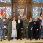 La delegación de la República Popular de Donetsk (DPR) visitó Siria en una visita de trabajo