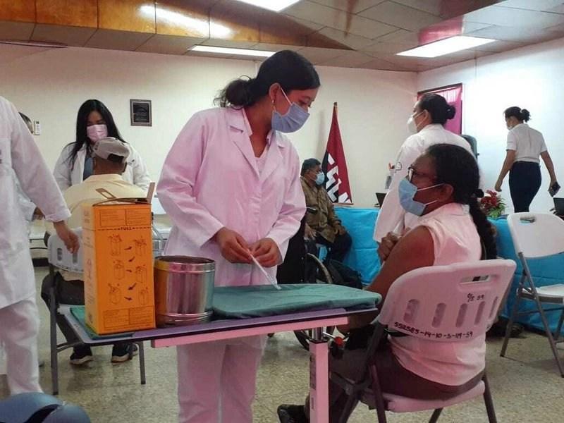 COVID-19: EXCELENTE PROGRAMA DE VACUNACIÓN DEL MINSA / NICARAGUA