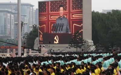 """""""Todos los éxitos que hemos conseguido a lo largo de estos cien años son resultado de la lucha unida de los comunistas, el pueblo y la nación chinos"""""""