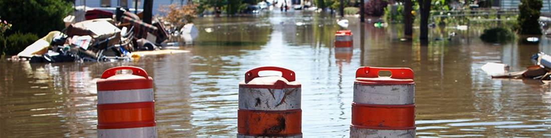 Mantengase seguro despues de un huracan