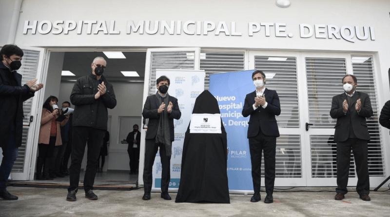 """Achával: """"Este hospital es un sueño hecho realidad en Derqui"""