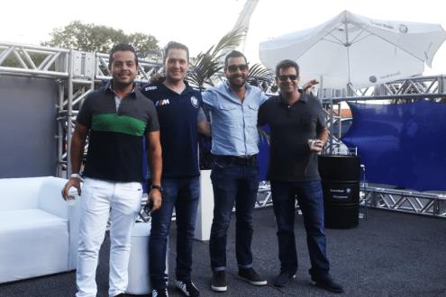 Caio Andrade, Luiz Felipe Salmeirão, Felipe Barbosa, Francesco Russo
