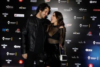 Gian Luca Ewbank e Giovana Lancelotti