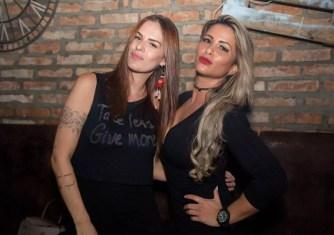 Regina Galvão e Fernanda Teixeira