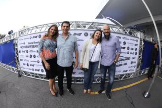 Rita Melo, André Melo, Fernando Leão e Flavia Leão
