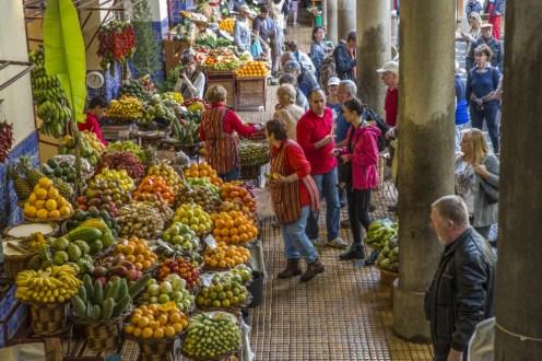 Mercado dos Lavradores no Funchal