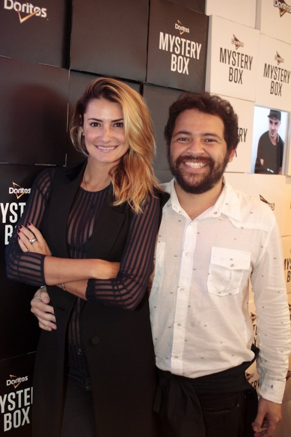 Priscila Borgonovi e Leo Galvao