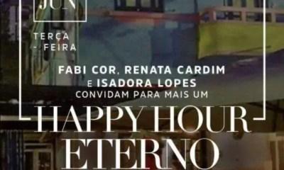 Em tempo real: acontece agora o 3°edição do Happy Hour Eterno, no Mercearia São Roque.