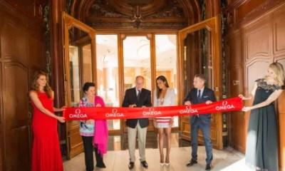 OMEGA inaugura sua primeira boutique em Mônaco com a ilustre presença do Príncipe Albert II E e Naomie Harris