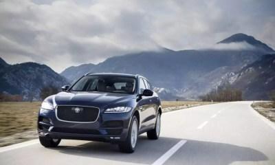 Jaguar F-PACE chega à versão 2018 com nova opção de motor a gasolina