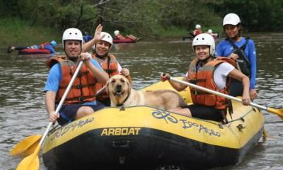Brotas cria turismo de aventura especialmente para o pet