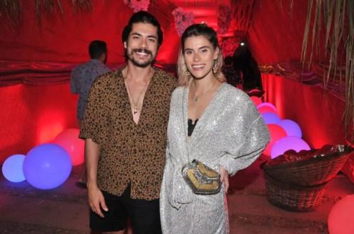 Pedro Ivo Brito e Anna Stevanato