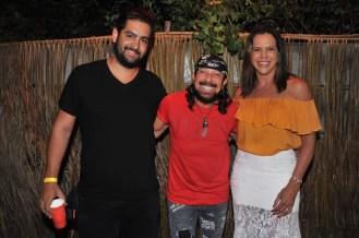 Vitor Dantas, Bell Marques e Virna Dias