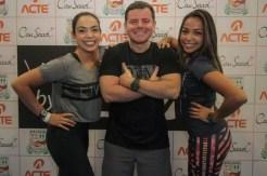 Valéria Rodrigues, Plinio Mariano e Laila Rodrigues