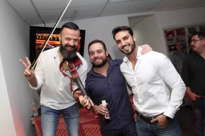 Amon Lima, Ricardo Leão e Bruno Fernandes
