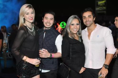 Larissa Calpo, Jean Felipe, Danilo Kodi e Priscila Martins