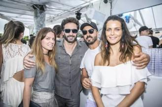 Rico Mansur, Roger Rodrigues e Fernanda Motta