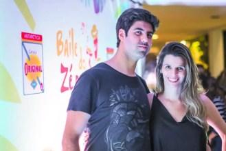 Thiago Lobo e Michelle Guzovsky
