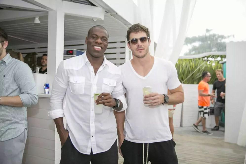 Hugo Bidu e Vinicius Nogueira