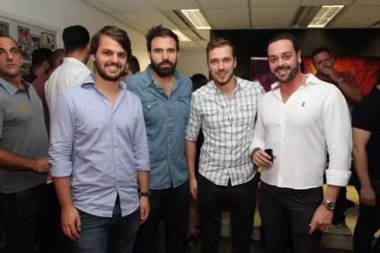 Juliano Libmann, Reinaldo, Luis Restiffe e Beto Leão