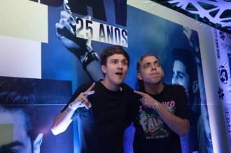 Christian Figueiredo e Lucas Selfie