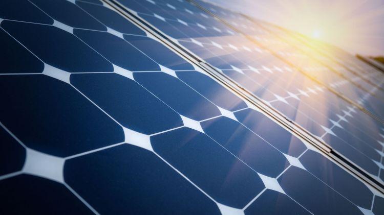 Arrangement of solar energy production plant