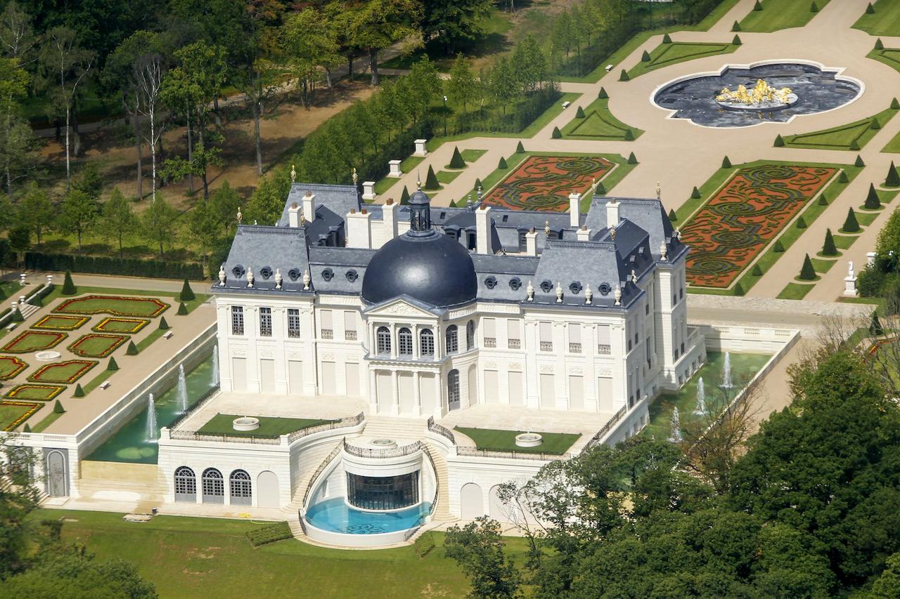 El chateau Louis XIV