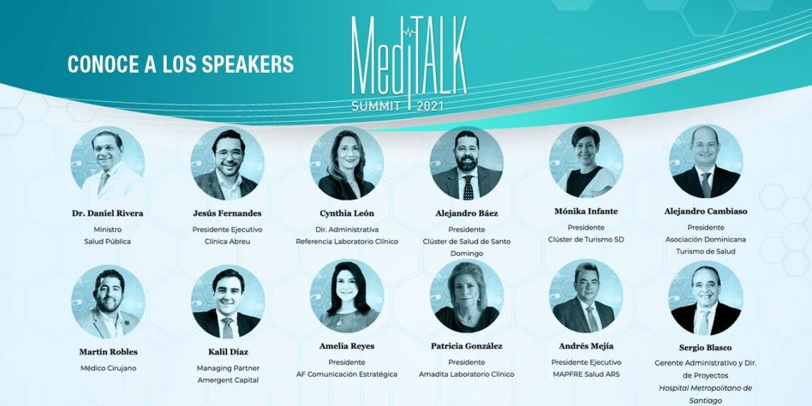 Speakers MediTalk Summit 2021