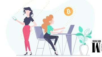 mujeres que invierten en criptomonedas