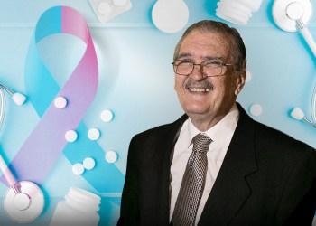 Ricardo Romero, sobreviviente de cáncer de mama