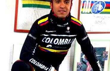 El colombiano Dalivier Ospina estuvo en la fuga del día