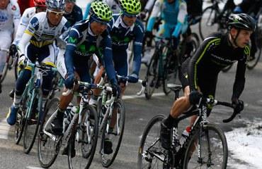 Nairo Quintana corriendo en Europa