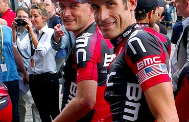 George Hincapie en pleno Tour de Francia