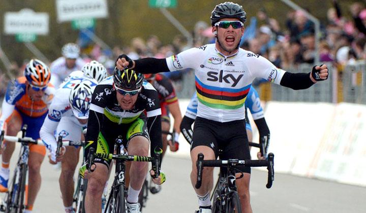 Cavendish ganó en Tournai y sumó su victoria número 21 en el Tour de Francia