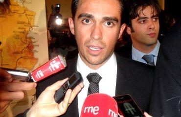 Contador afronta la Vuelta tras su sanción