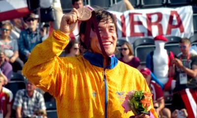 Oquendo le da otra alegría al BMX colombino con un bronce en la final