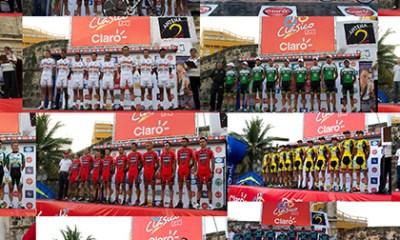 Equipos del Clásico RCN-Claro 2012