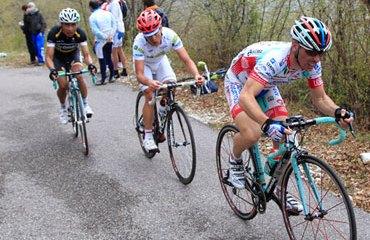 Carlos Betancur se metió 5º en la carrera