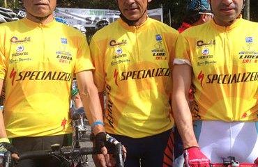 Silvio Robayo junto a Raúl Montaña y Rafael Toloza