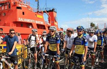 Contador y su equipo estarán en el Tour 2013