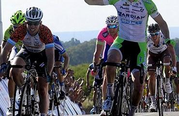 Modolo se estrenó en el Tour de San Luis