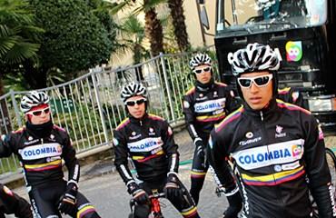 Team Colombia en Italia