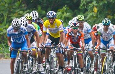 Lote en plena Vuelta al Táchira