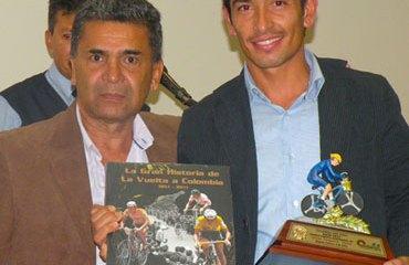 Jaime Vergara fue el mejor ciclista en la categoría A