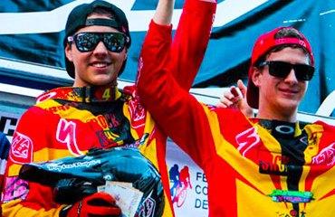Rafael Gutiérrez del equipo Specialized, ganó en élite