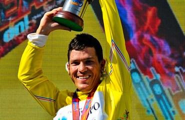 Julián Arredondo, campeón absoluto de la prueba